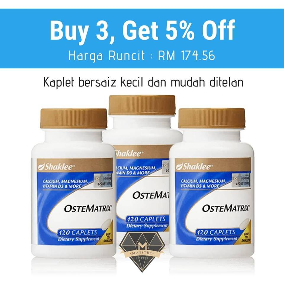 PROMOSI OSTEMATRIX SEPTEMBER 2018
