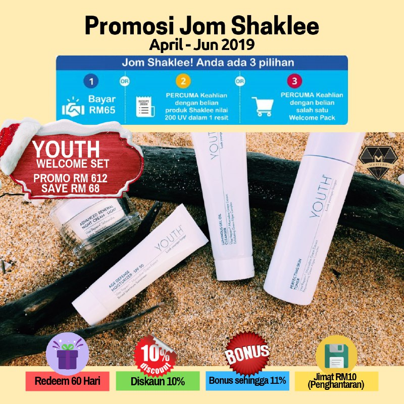 Shaklee Welcome Set Daily Youth