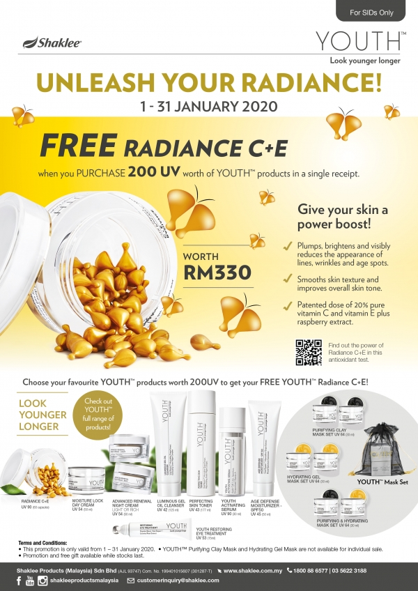 promosi shaklee januari 2020 youth